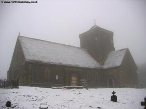 St Martha's in Snow